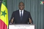 (Vidéo) Message à la nation du Président de la République Macky Sall - 03 Avril 2020