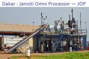 Dakar en guerre contre les agents pathogènes avec la machine Janicki Omni Processor ou JOP