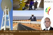 (VIDEOS) REALISATIONS du Président Macky Sall : PUDC 1