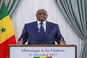 Message à la Nation du Président de la République à l'occasion du Nouvel An