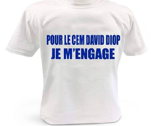 Pour CEM David Diop Je m'engage